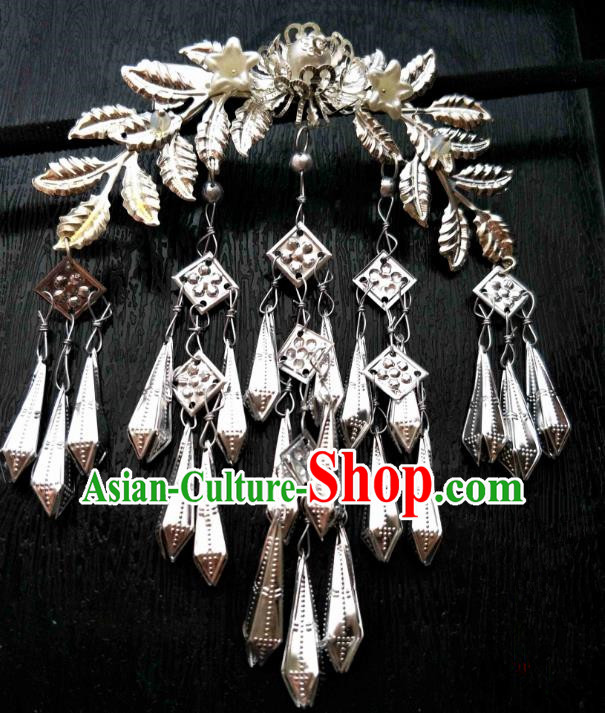 Chinese Traditional Ancient Hair Accessories Classical Hairpins Tassel Hair Stick Headwear for Women