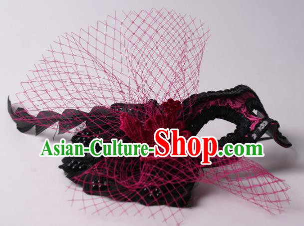 Halloween Fancy Ball Props Exaggerated Face Mask Stage Performance Accessories Veil Masks
