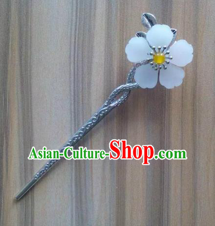 China Ancient Hair Accessories Hanfu Flower Hair Clip Chinese Classical Hairpins for Women