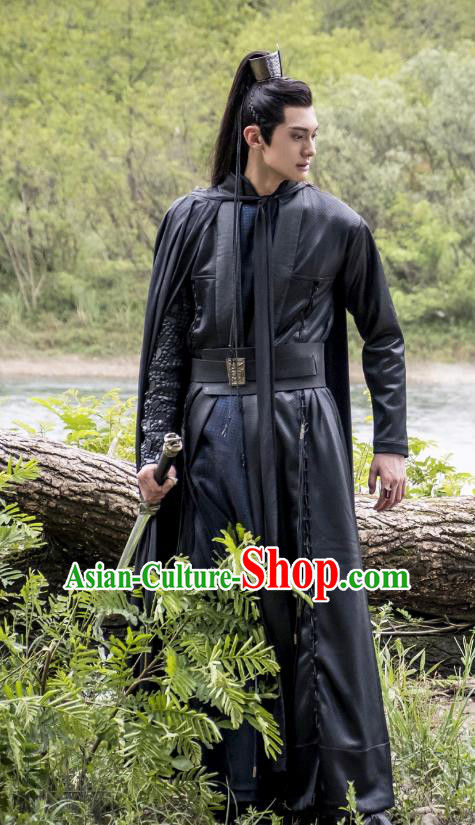Legend Of Fu Yao Chinese Ancient Nobility Childe Swordsman Historical Costume for Men