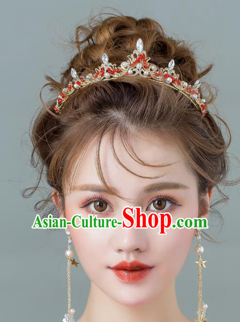 Baroque Bride Classical Hair Accessories Princess Royal Crown Wedding Imperial Crown for Women