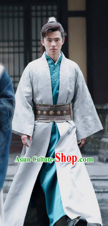 Chinese Ancient Prince Clothing Television Drama Nirvana in Fire Nobility Childe Xiao Pingjing Replica Costume for Men