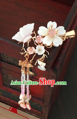 Traditional Handmade Chinese Ancient Classical Hair Accessories Butterfly Hair Claws Hairpins for Women