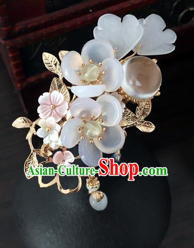 Traditional Handmade Chinese Ancient Classical Hair Accessories Hairpins Flowers Hair Stick for Women