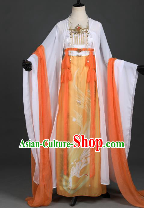 Chinese Ancient Princess Costume Cosplay Palace Lady Dress Hanfu Clothing for Women
