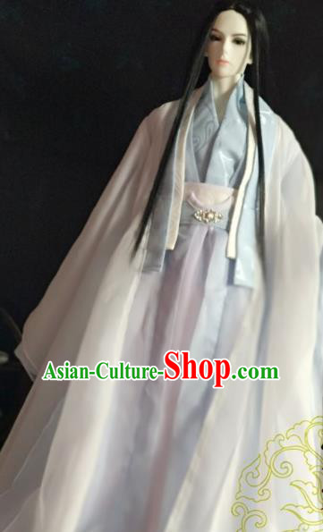 Chinese Ancient Nobility Childe Prince Costume Cosplay Swordsman Royal Highness Clothing for Men