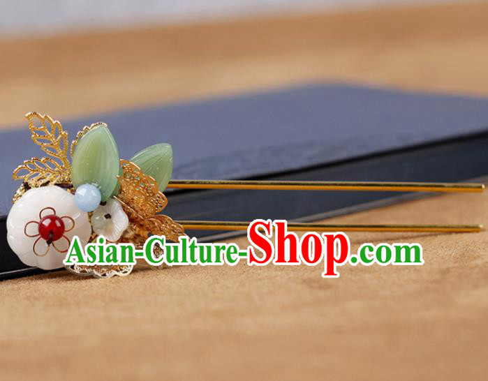 Chinese Traditional Handmade Hair Accessories Ancient Hairpins Hanfu Butterfly Hair Clip for Women