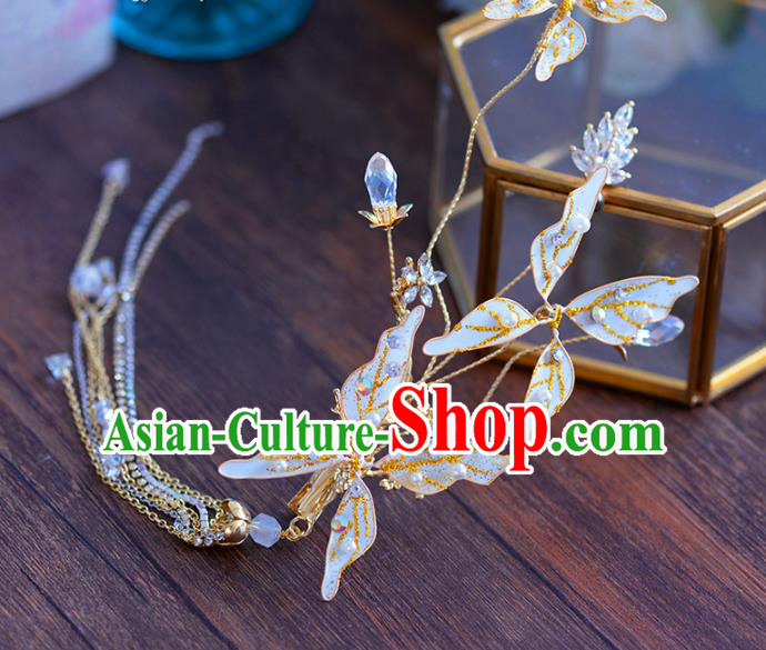 Chinese Traditional Handmade Hair Accessories Ancient Hairpins Butterfly Hair Stick for Women