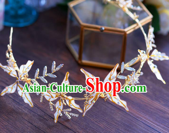 Chinese Traditional Handmade Hair Accessories Ancient Butterfly Hair Clasp for Women