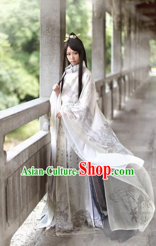 Chinese Ancient Swordsman Costume Tang Dynasty Knight Nobility Childe Hanfu Clothing for Men