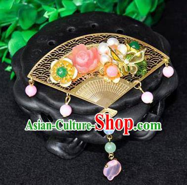 Ancient Chinese Handmade Pearls Hair Stick Hair Accessories Classical Hairpins for Women