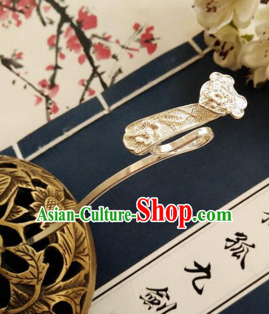 Chinese Ancient Hair Accessories Hanfu Hairpins Carving Hair Clip for Women