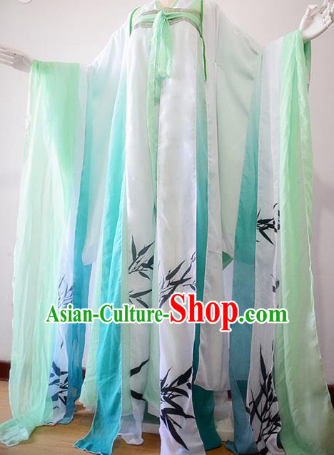Chinese Ancient Cosplay Costume Traditional Tang Dynasty Palace Princess Hanfu Dress for Women