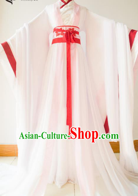 Chinese Traditional Han Dynasty Princess Hanfu Dress Ancient Cosplay Palace Lady Costume for Women