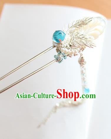 Chinese Ancient Handmade Tassel Hair Clip Hair Accessories Hanfu Hairpins for Women