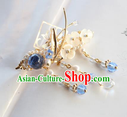 Chinese Ancient Handmade Orchid Hair Claw Hair Accessories Hanfu Hairpins for Women