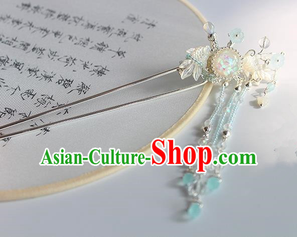 Chinese Ancient Handmade Goldfish Hair Clip Hair Accessories Hanfu Hairpins for Women