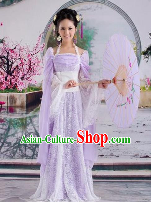 Traditional Chinese Ancient Fairy Costume Tang Dynasty Imperial Consort Hanfu Dress for Women