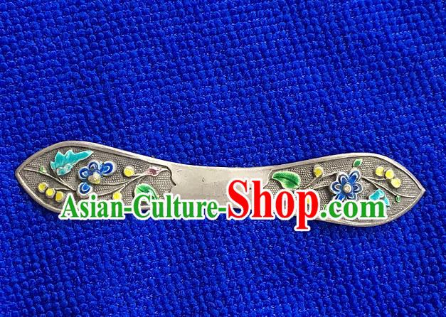 Chinese Traditional Ancient Queen Cloisonne Hair Stick Hairpins Hair Accessories for Women