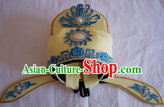 Chinese Traditional Beijing Opera Number One Scholar Hats for Men