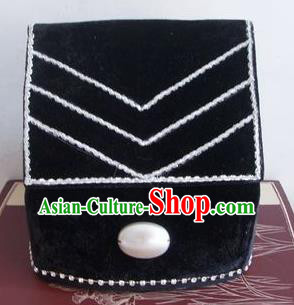 Chinese Traditional Beijing Opera Taoist Priest Scholar Black Hats for Men