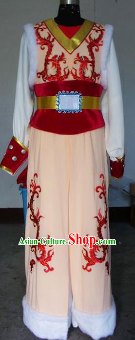 Chinese Traditional Shaoxing Opera Takefu Clothing Peking Opera Niche Embroidered Costumes for Adults