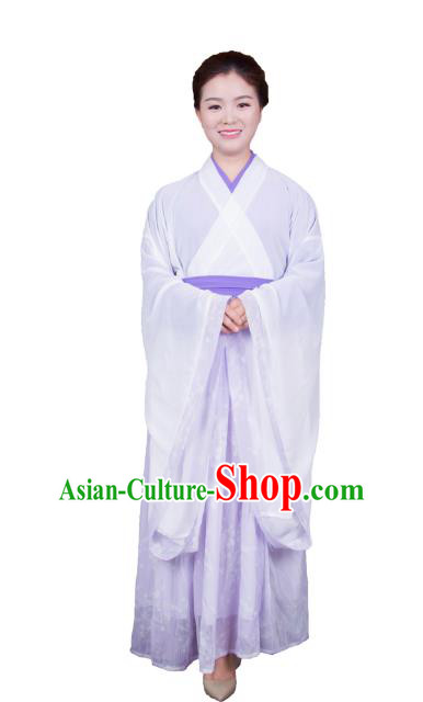 Chinese Traditional Jin Dynasty Swordswoman Costumes Ancient Nobility Lady Dress for Women