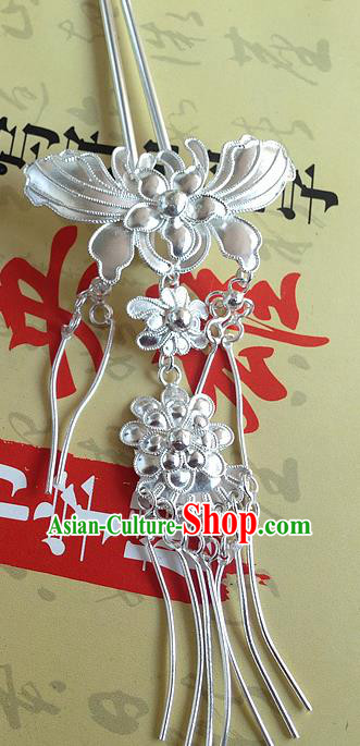 Chinese Traditional Ancient Hairpins Hair Accessories Butterfly Tassel Hair Clip for Women
