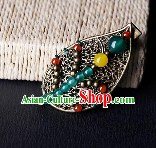 Chinese Traditional Hair Accessories Ancient Hanfu Hair Claw Hairpin for Women