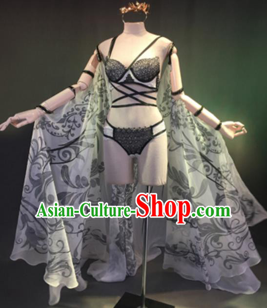 Top Grade Models Show Costume Bikini Dress Stage Performance Compere Clothing for Women