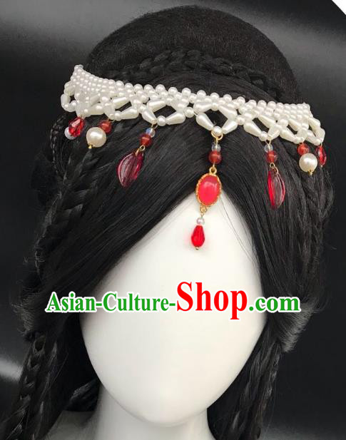 Chinese Traditional Hair Accessories Ancient Hair Clasp Hanfu Tassel Hairpins for Women