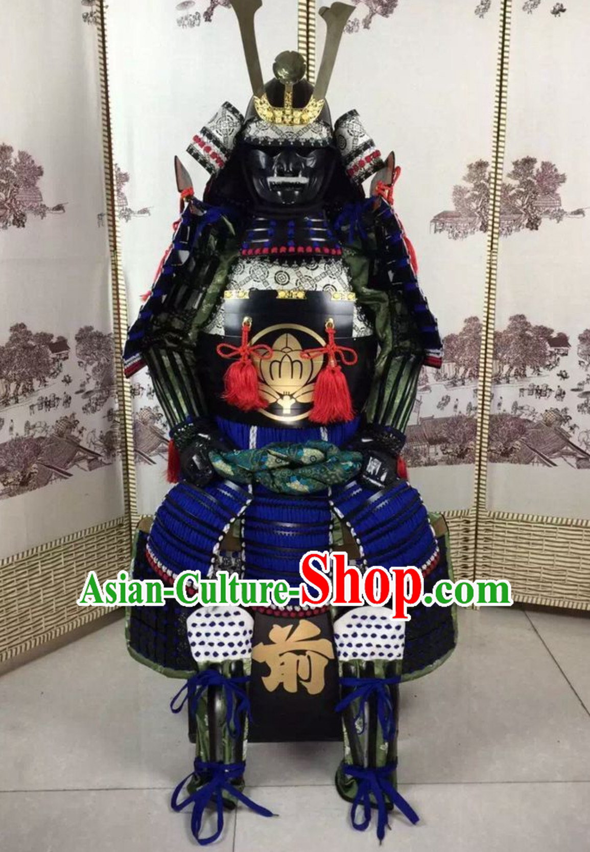 Ancient Authentic Japanese Samurai Armor Japanese Samurai Body Armor Custom Japanese Samurai Armor Mask and Body Armors Complete Set