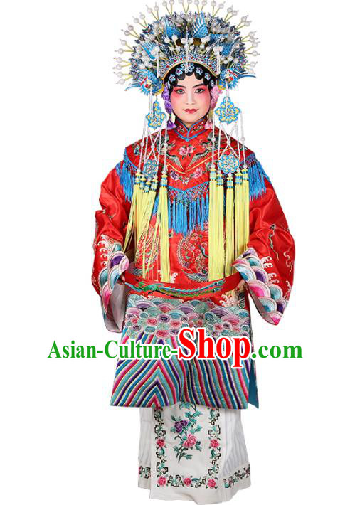Professional Chinese Traditional Beijing Opera Imperial Consort Wedding Costumes for Adults