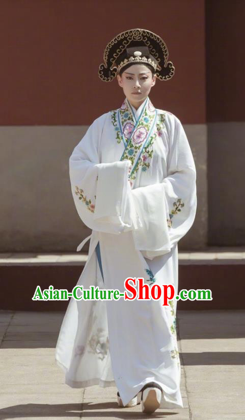Drama Story of Yanxi Palace Imperial Concubine Gao Peking Opera Niche Embroidered Costumes and Headpiece Complete Set