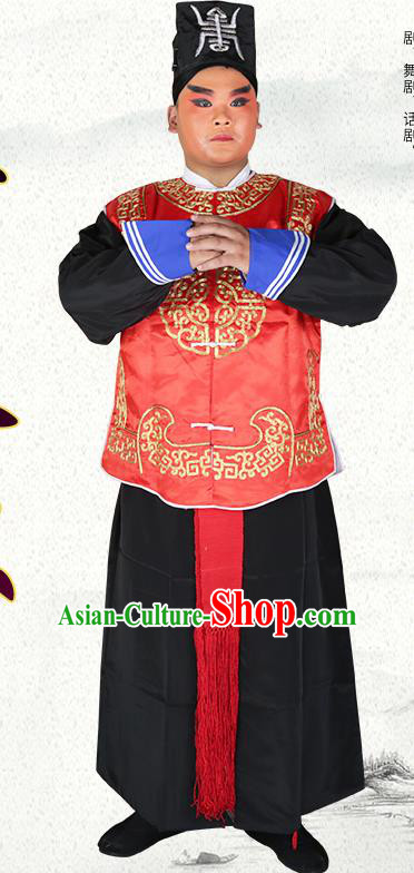 Professional Chinese Peking Opera Imperial Bodyguard Costume and Hat for Adults