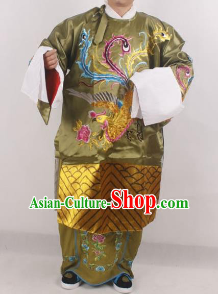 Professional Chinese Peking Opera Pantaloon Old Women Embroidered Costumes for Adults