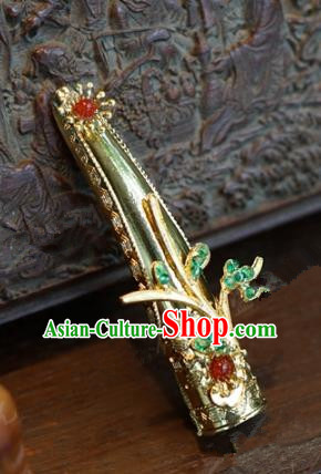 Top Grade Chinese Handmade Jewelry Accessories Ancient Qing Dynasty Imperial Consort Nail Wrap for Women