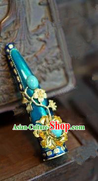 Chinese Handmade Nail Wrap Ancient Qing Dynasty Queen Jewelry Accessories for Women