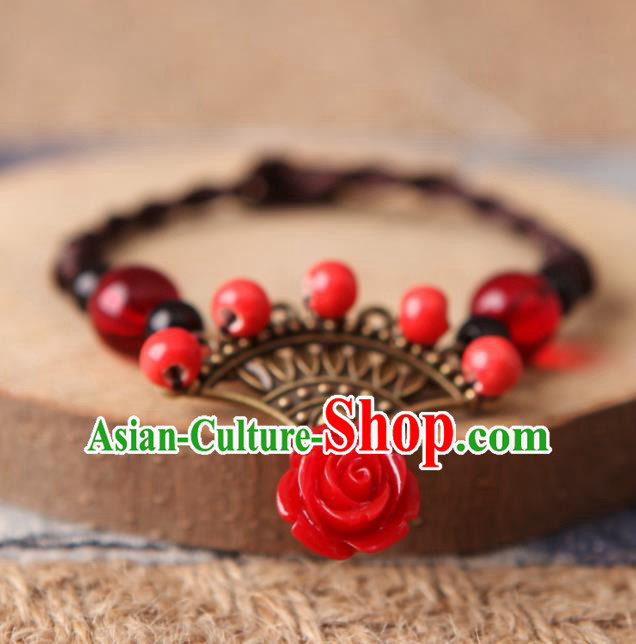 Top Grade Chinese Handmade Jingdezhen Ceramics Bracelet for Women