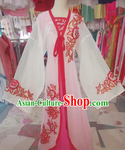 Chinese Peking Opera Diva Clothing Traditional Beijing Opera Young Lady Embroidered Costumes for Adults