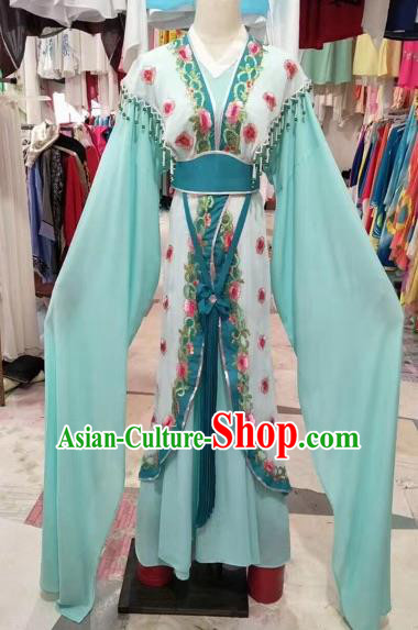 Chinese Shaoxing Opera Palace Princess Hanfu Dress Traditional Beijing Opera Diva Costume for Adults