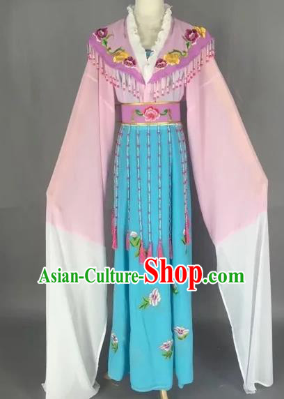 Chinese Beijing Opera Diva Pink Dress Ancient Imperial Consort Costume for Adults