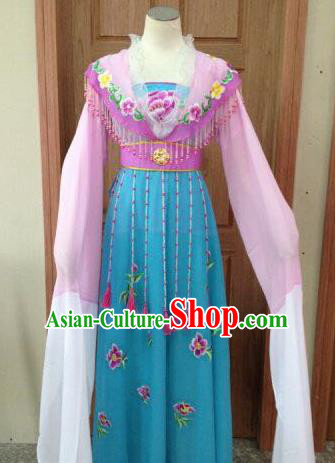 Chinese Beijing Opera Diva Lilac Dress Ancient Imperial Consort Costume for Adults