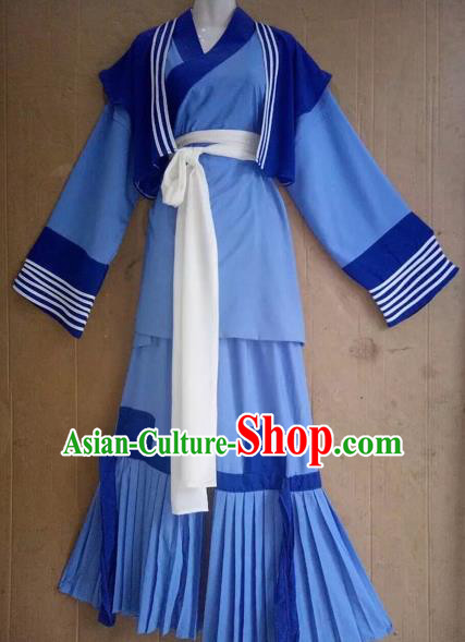 Chinese Beijing Opera Servant Clothing Traditional Peking Opera Waiter Costumes for Adults
