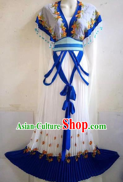 Chinese Beijing Opera Diva Dress Ancient Nobility Lady Costume for Adults