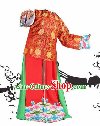 Chinese Beijing Opera Bridegroom Clothing Traditional Peking Opera Costumes for Adults
