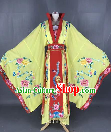 Chinese Traditional Peking Opera Empress Hanfu Dress Ancient Queen Costume for Adults