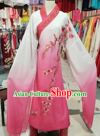 Chinese Beijing Opera Niche Pink Robe Traditional Peking Opera Costume for Adults