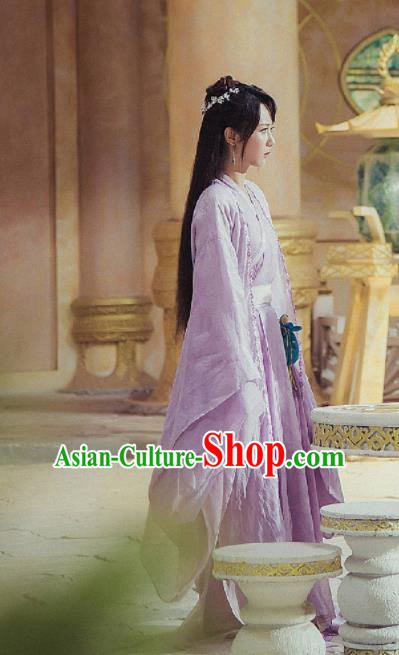 Chinese Ancient Princess Dress Drama The Honey Sank Like Frost Fairy Costume for Women