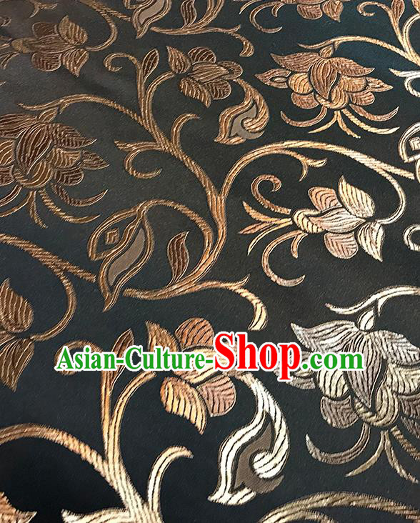 Asian Chinese Traditional Pattern Design Brocade Fabric Silk Fabric Chinese Fabric Asian Material
